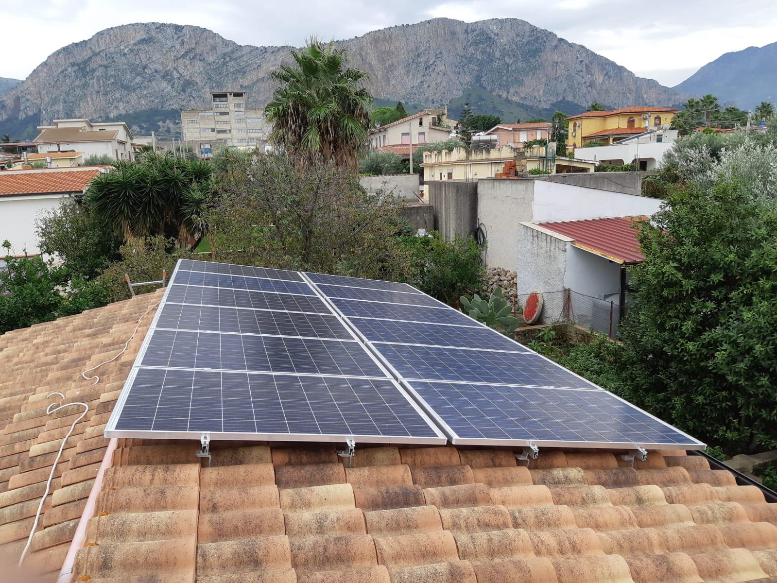 Impianto Fotovoltaico Palermo